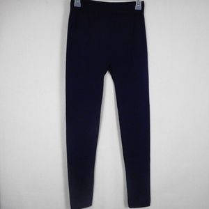 GLO Gloria Vanderbilt Leggings M / L Blue Fleece